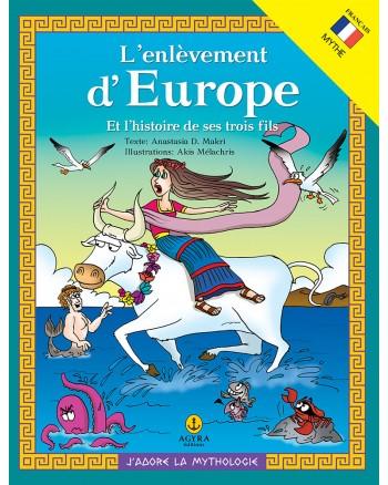 L'enlèvement d'Europe Et l'histoire de ses trois fils / Η αρπαγή της Ευρώπης και η ιστορία των 3 γιων της | E-BOOK